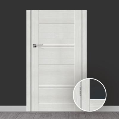 Наш плинтус идеально сочетается с дверями